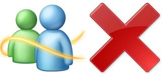 Excluindo conta do MSN