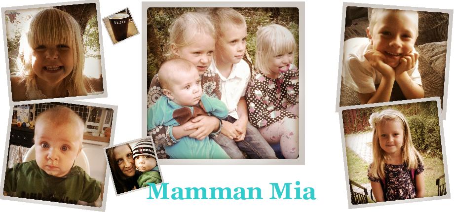 Mamman Mia och fyra små troll