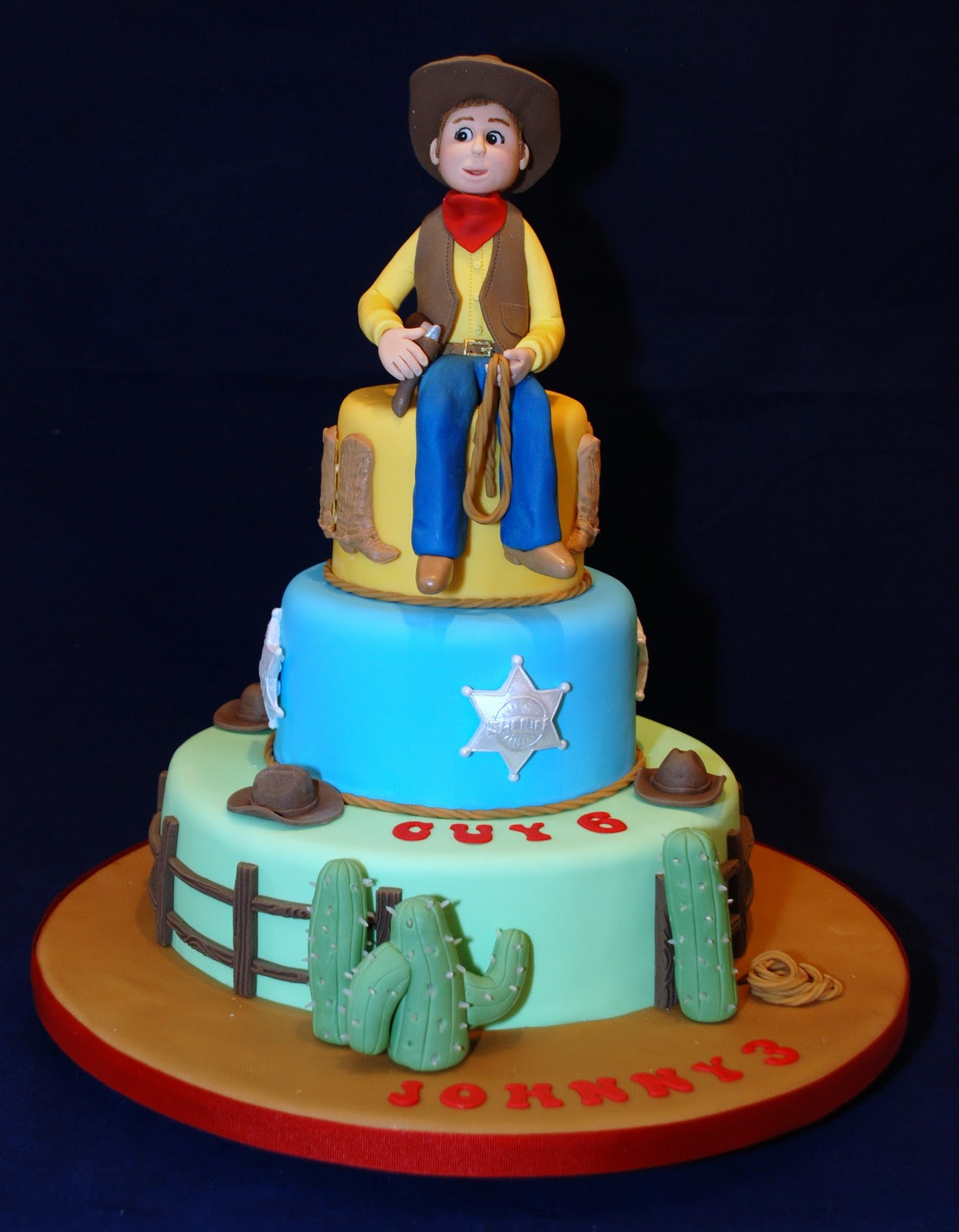 Cake Decorating Course Walsall : Icing Heaven: Yee-haa cowboy!