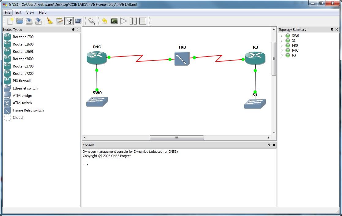 CCNA_CCNP_CCIE_BLOG: IPv6 Frame-relay Lab on GNS3