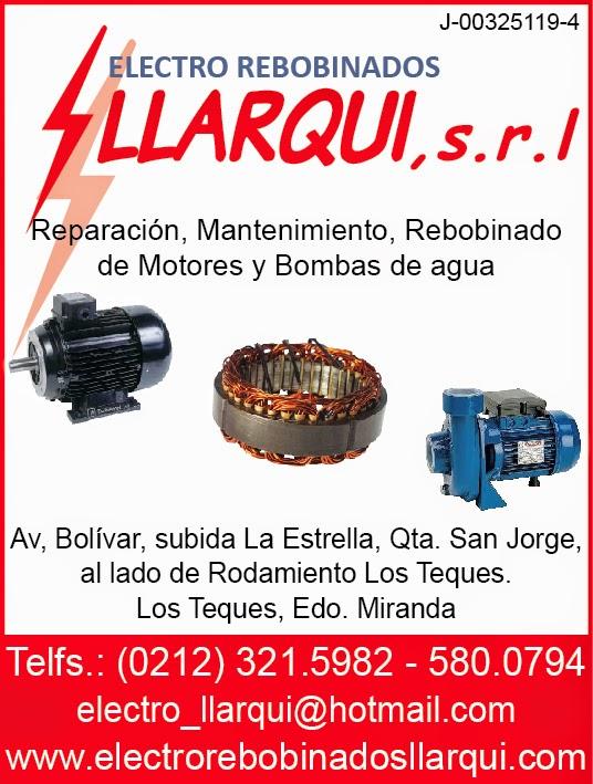 ELECTRO REBOBINADOS LLARQUI, S.R.L. en Paginas Amarillas tu guia Comercial