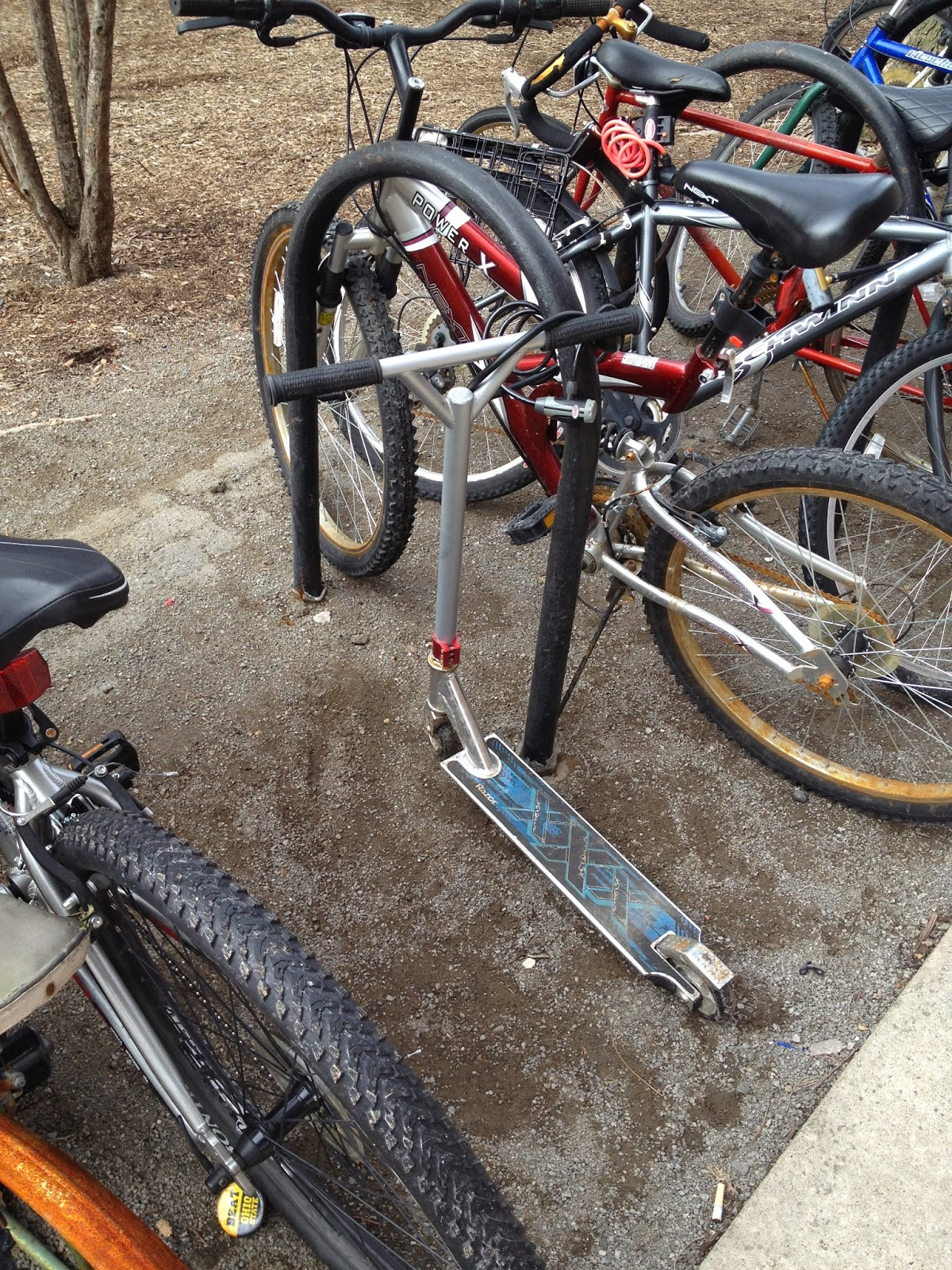 Damn Arbor: Scooter parking on campus