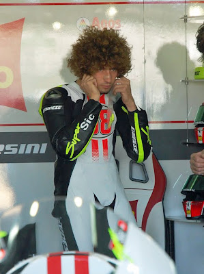 Marco Simoncelli, piloto de Moto GP fallecido en Malasia