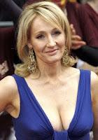 JK Rowling cleavage