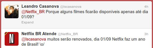 Netflix BR Atende: muitos serão renovados, dia 01/09 Netflix faz um ano de Brasil! \o/