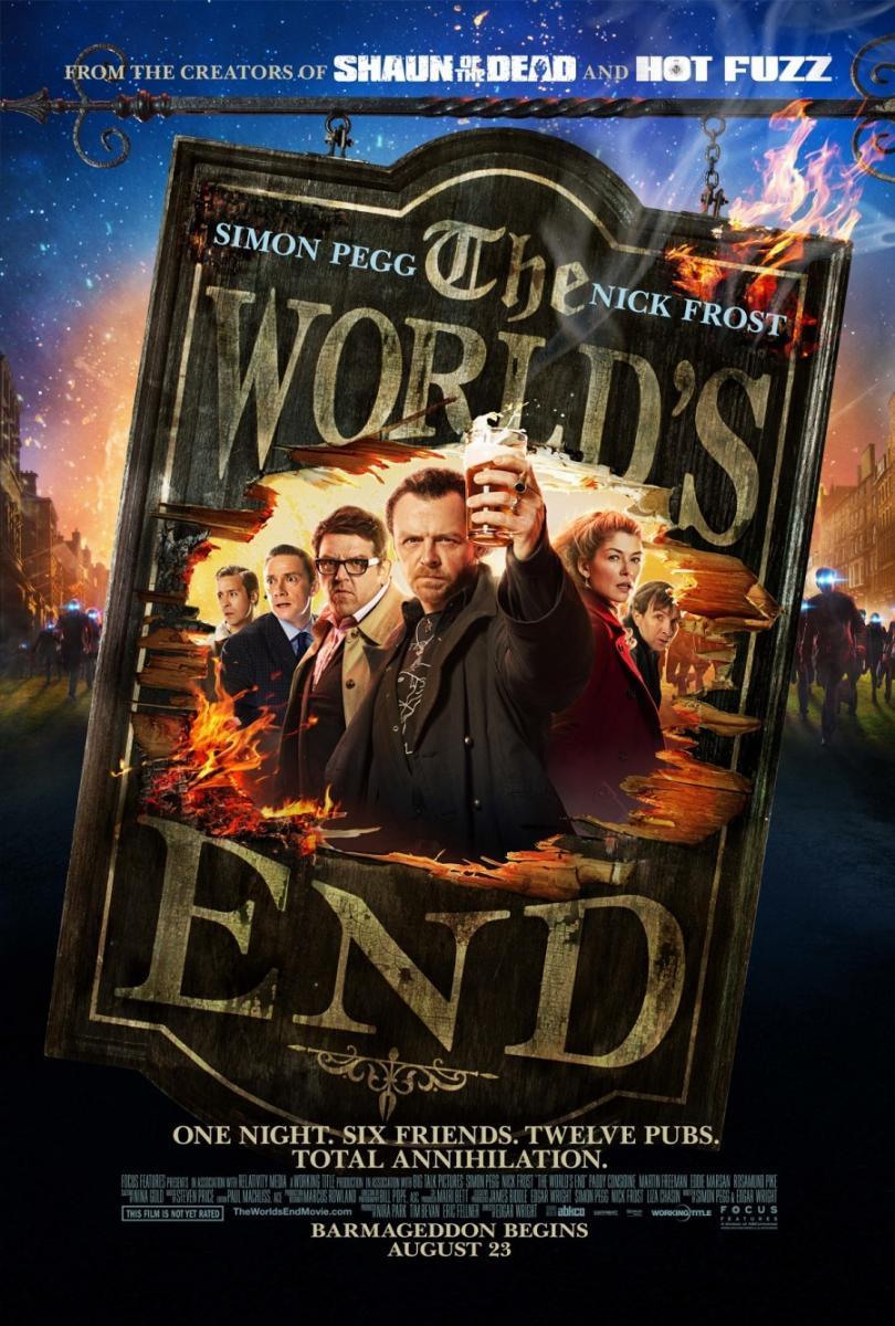 Bienvenidos al fin del mundo (The Worlds End) 2013