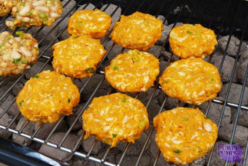 Sweet Potato & Halloumi Burgers