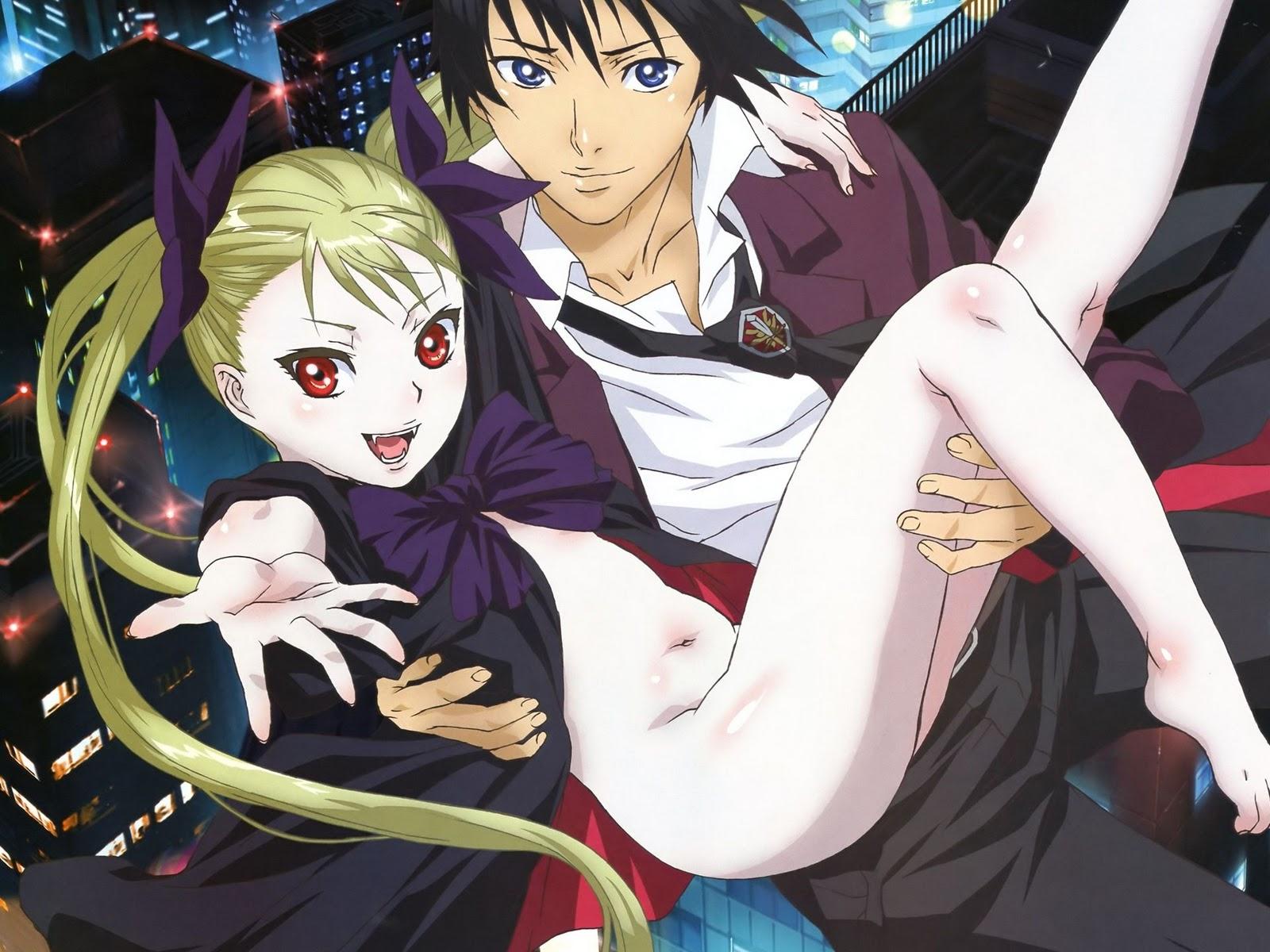 vampire bund hentai manga