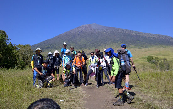 Rinjani trekking - Rinjani Summit