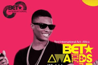 Wizkid wins 2017 BET Award