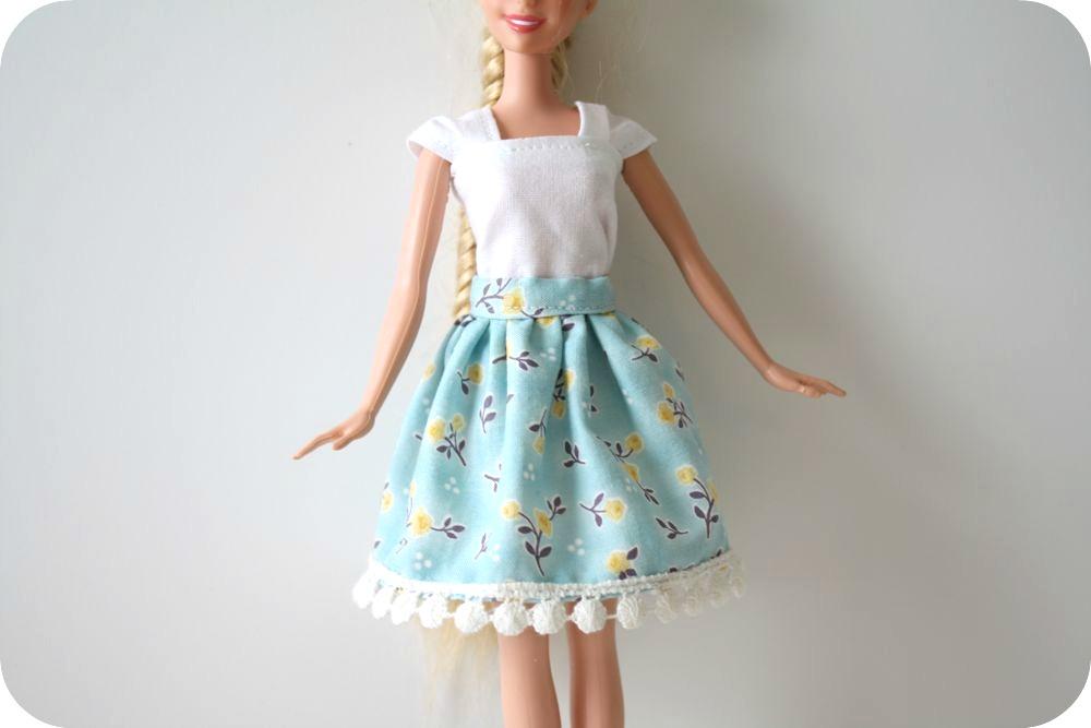 Юбка Для Куклы