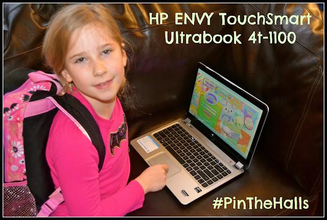 HP ENVY TouchSmart Ultrabook 4t-1100 MamaLuvsBooks