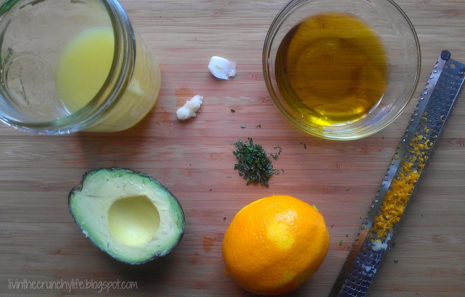 Creamy Meyer Lemon Vinaigrette (egg/dairy-free)