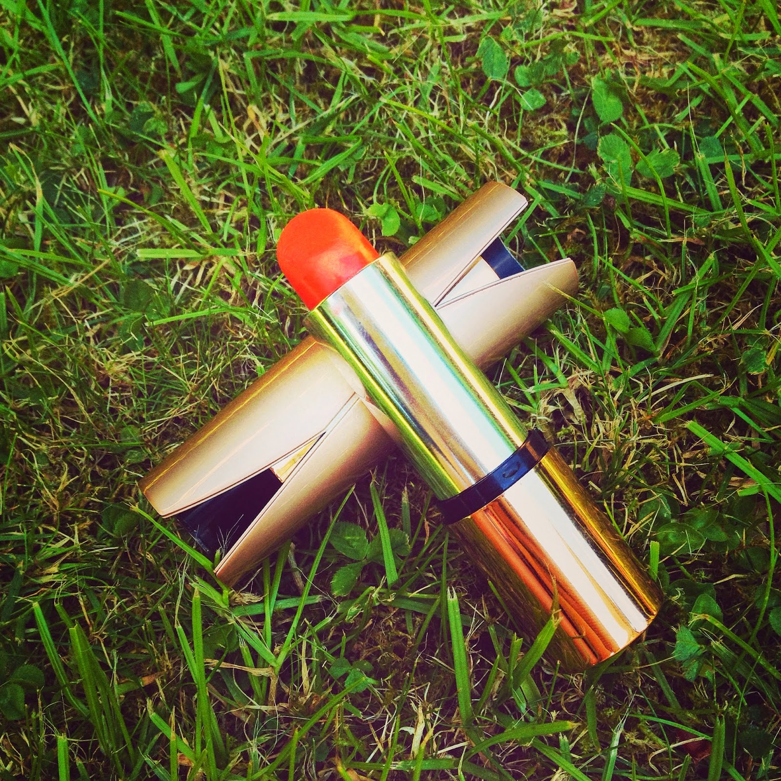 Kiko Velvet Mat Satin Lipstick in Bright Orange