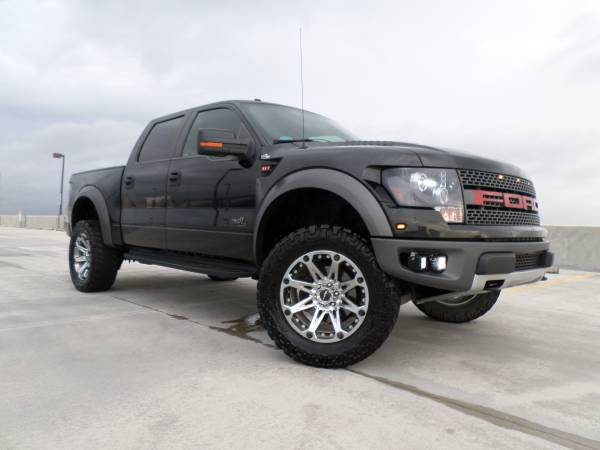 Fully Loaded 2011 Ford F150 SVT Raptor
