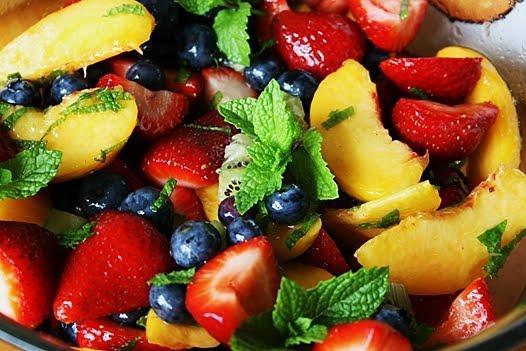Fruit Salad Recipes: Fruit Salad Dressing with Honey-Mint ...
