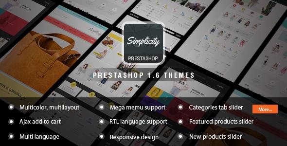Premium Responsive Prestashop Theme