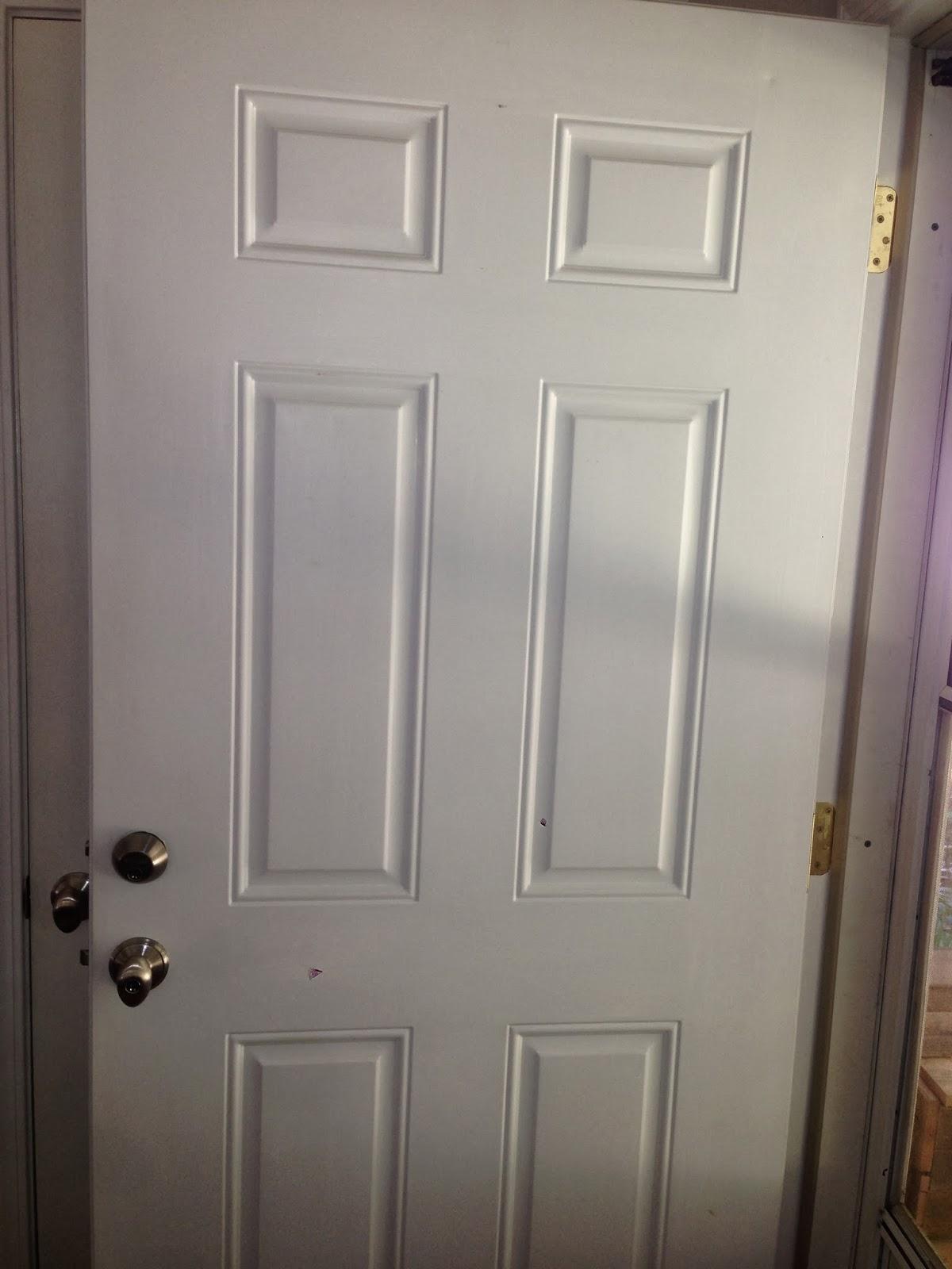 Bird and a tree chalk paint front door for Chalk paint door