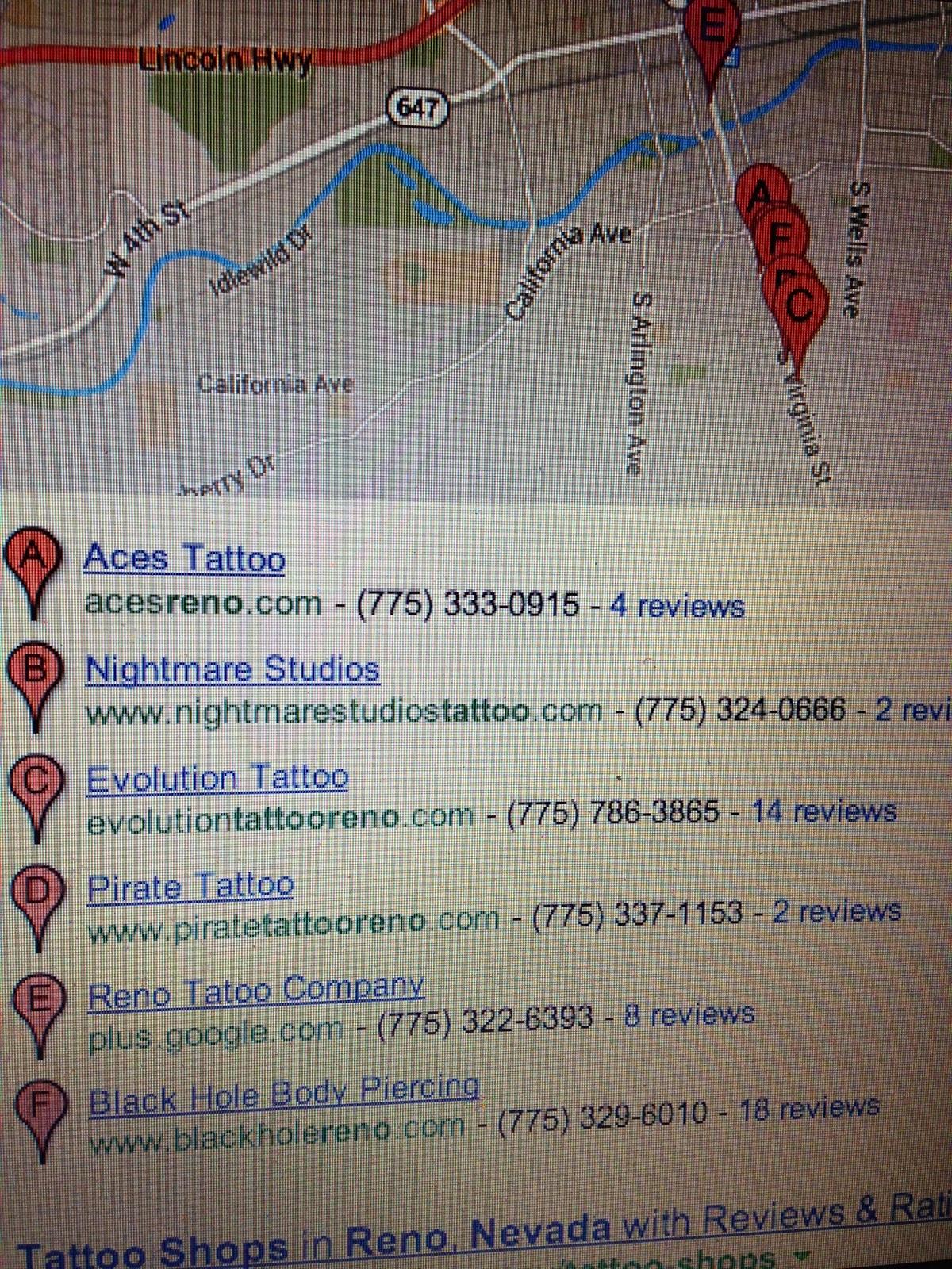 Reno Tattoo: Reno Tattoo Mecca