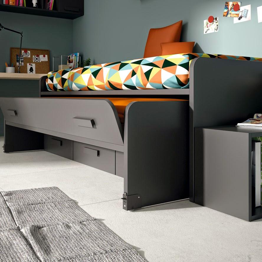 Dormitorios juveniles para dos hermanos - Dormitorio juvenil dos camas ...