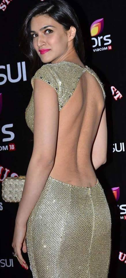kriti sanon backless hot wallpaper