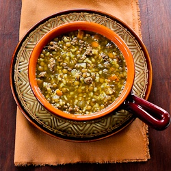 Lentil Soup Recipe With Ground Beef And Brown Rice Recipe — Dishmaps