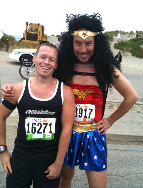 Wonder Woman Bay to Breakers 2010 costume