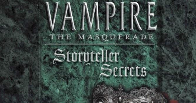 vampire the masquerade storytellers handbook pdf