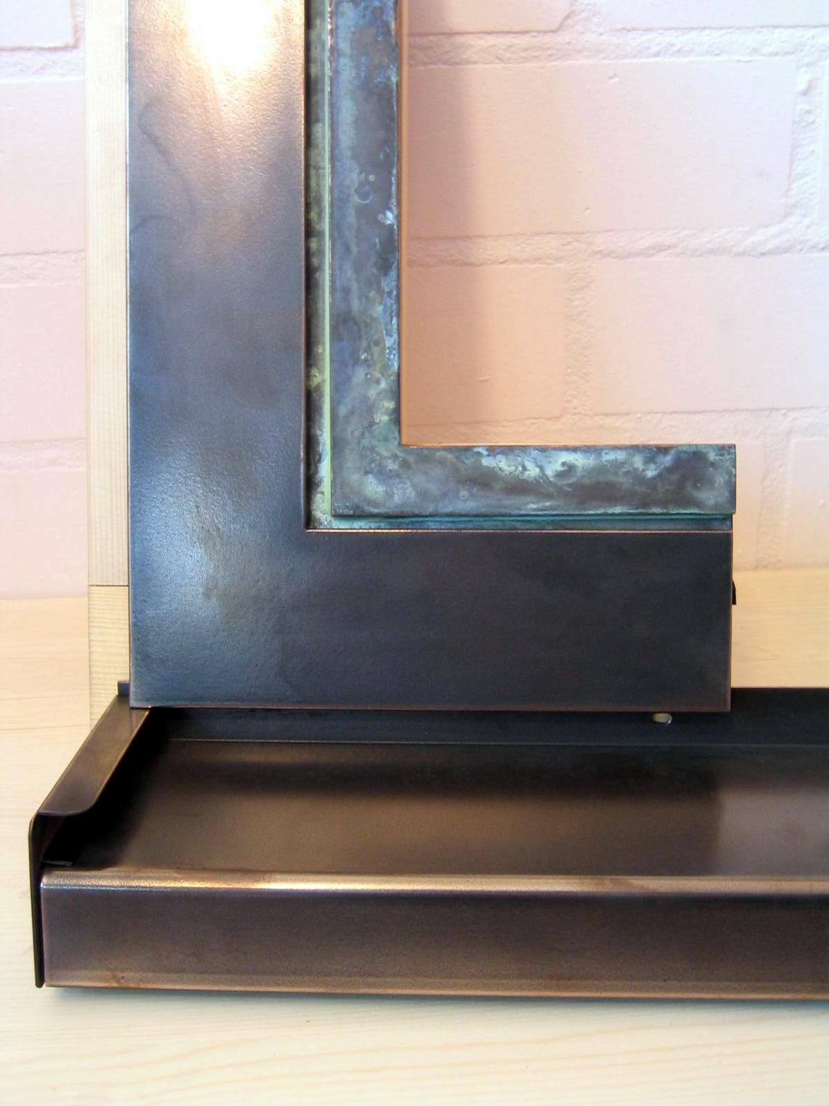 verometal beschichtung mit echtmetall aus vergrauten fenstern werden schmuckst cke. Black Bedroom Furniture Sets. Home Design Ideas