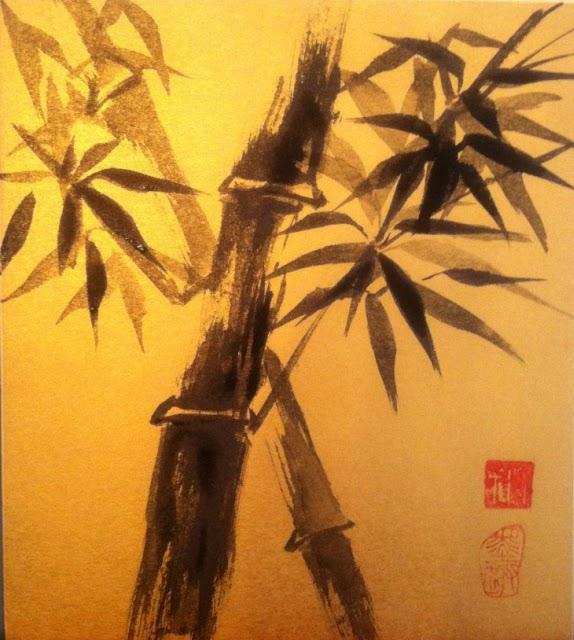 Carmen moreno guzm n pintura china en venta for Color bambu pintura