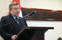 Ministro de Relaciones Exteriores, Rafael Roncagliolo. Foto: ANDINA/RREE/Daniel Malpica