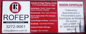 ROFEP CONTROLE DE PRAGAS Dedetização e Sanitização