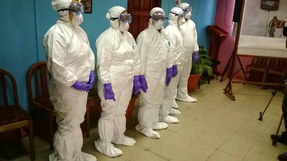 Marido de enfermera contagiada ébola aislado