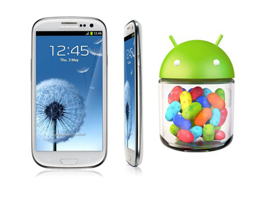 jelly bean update for galaxy s3 in germany
