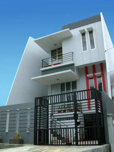 Minimalist house design simple and trendy life is for Simple minimalist house