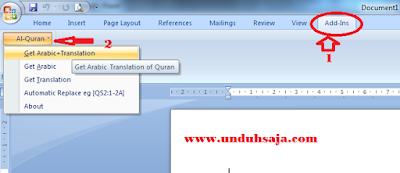 Download Al Quran In Word