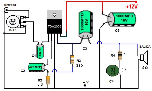 eletr u00d4nica geral  amplificador de 20 watts com equalizador