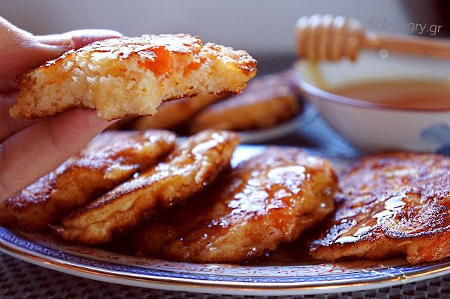 Cheese Cream and Apricot Pancakes