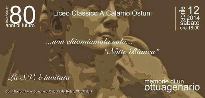 Liceo classico antonio calamo ostuni for Futuro del classico