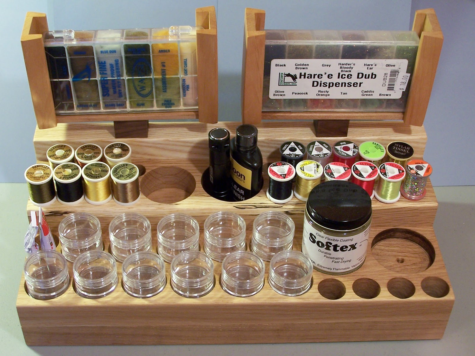 Marvelous Fly Tying Bench Ideas Part - 7: Mr. Jay Burge Of Finest Fly Tying Benches Of Colorado Designed An Accessory  Stand And Wanted Me To Try It Out. So After Having Used The Side Caddy For  Some ...