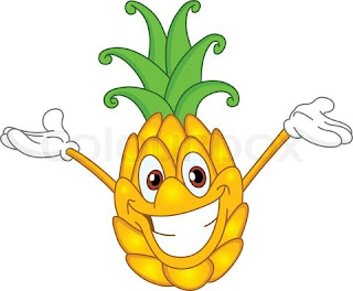 Happy Vegetable :: Clip Art :: Line Drawing :: Outlines