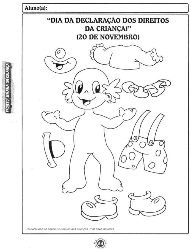 Extremamente Atividades para Imprimir semana da criança - Atividades Pedagógicas XD97