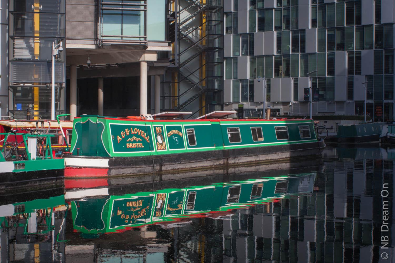Narrowboat dream on londres paddington basin et ses - Penthouse paddington londres en angleterre ...