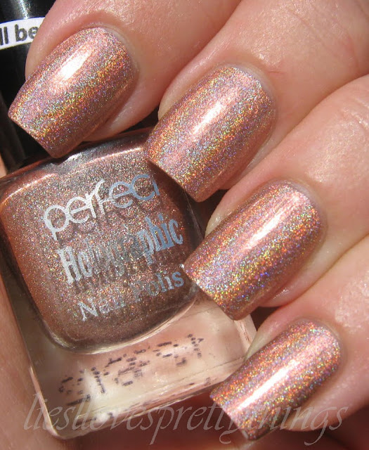 Perfect Holographic H6 swatch and review
