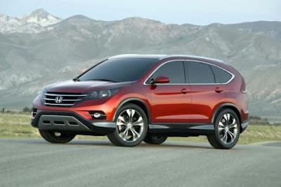 2012 Honda CR-V Concept Wallpaper