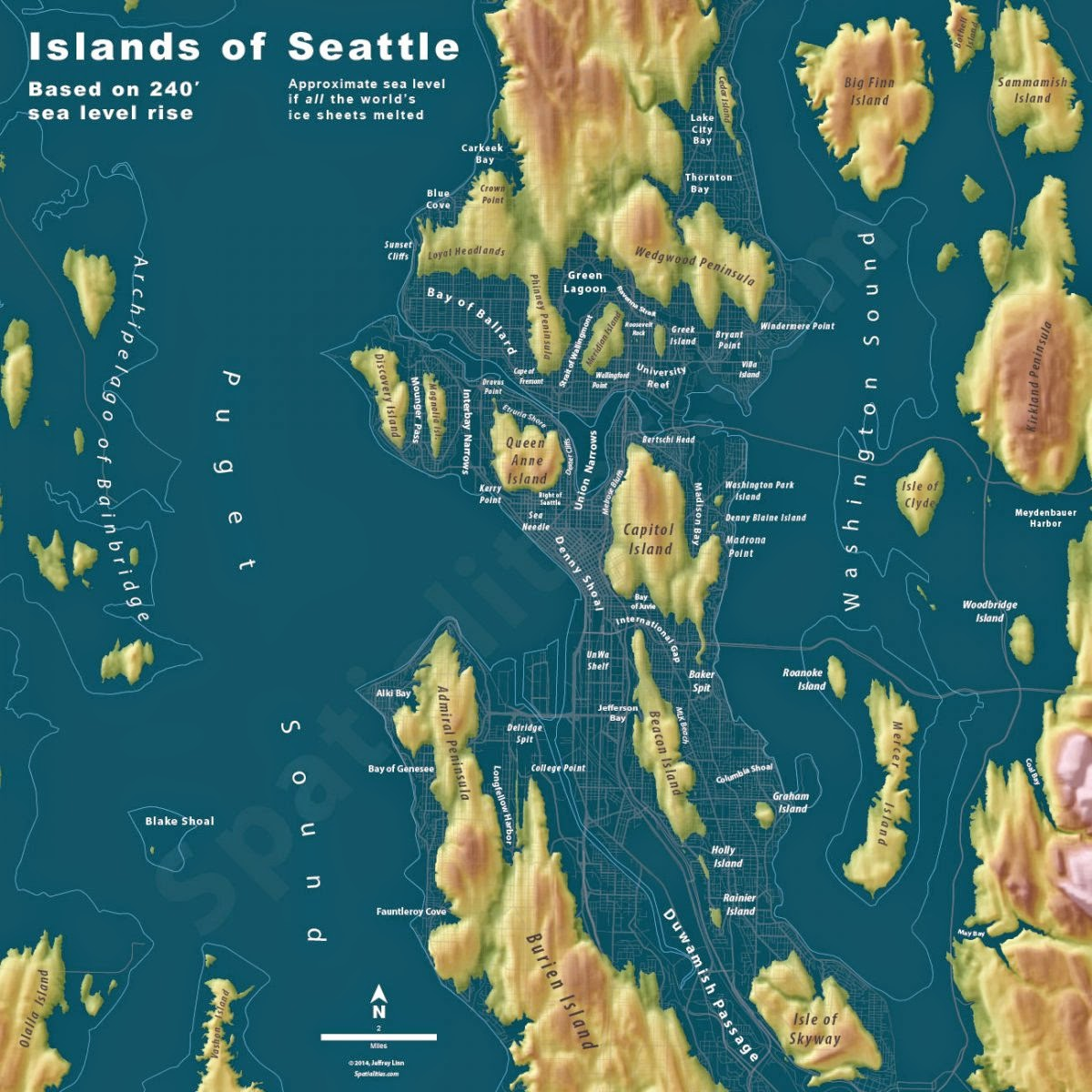 Island of Seattle.