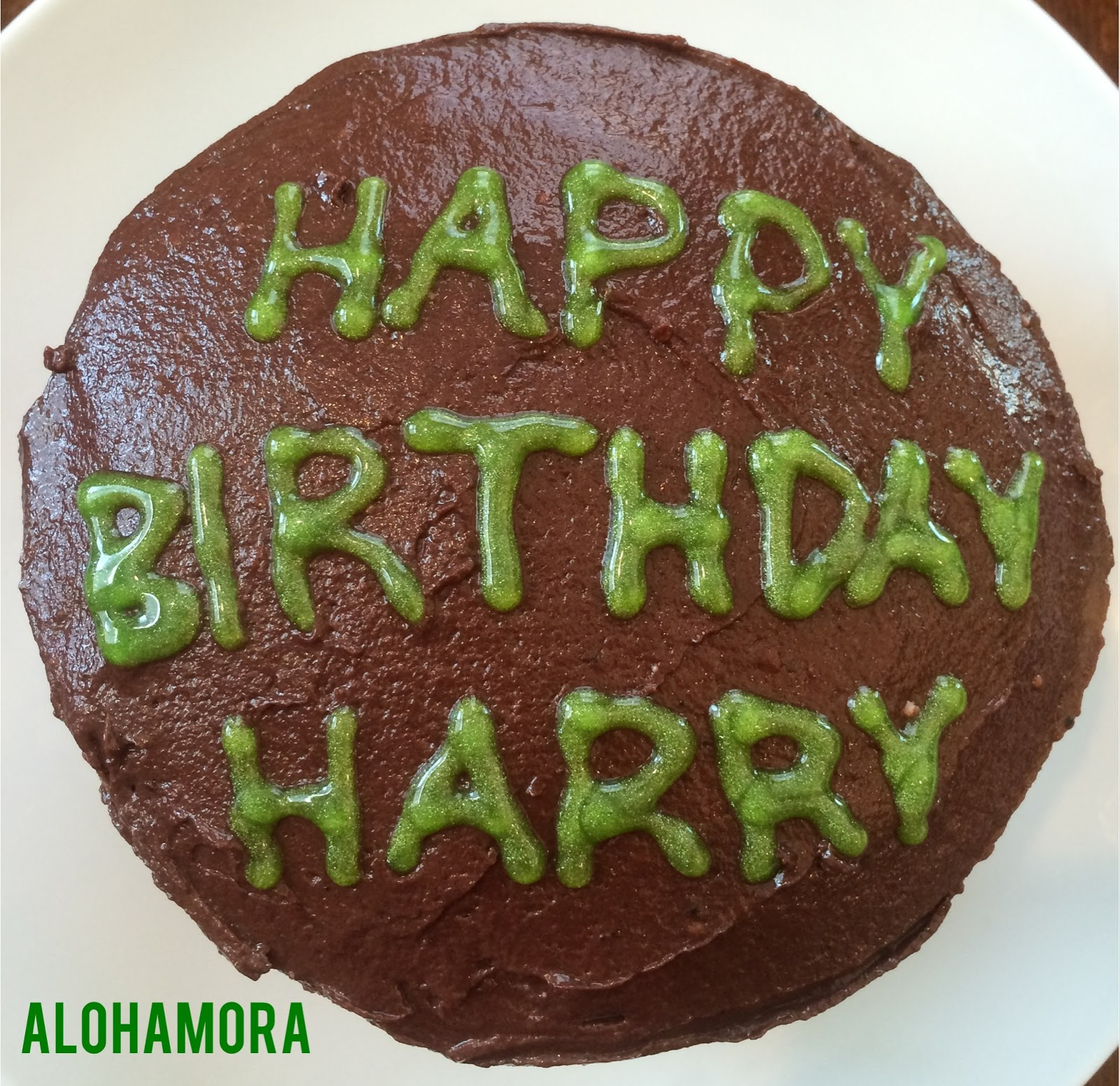 Happy Birthday Harry Potter Celebrate Harrys With This Dark Chocolate Cake Malted Double