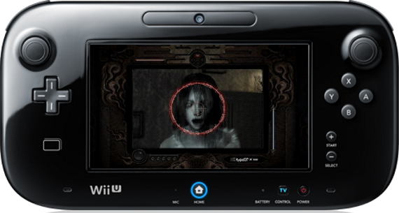 Fatal Frame on Wii U pad