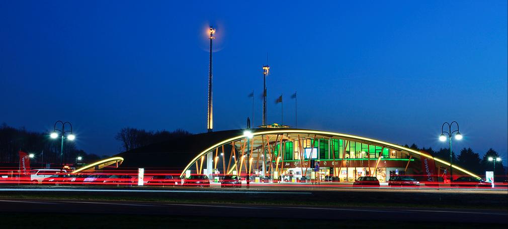 Groen tankstation Green Planet