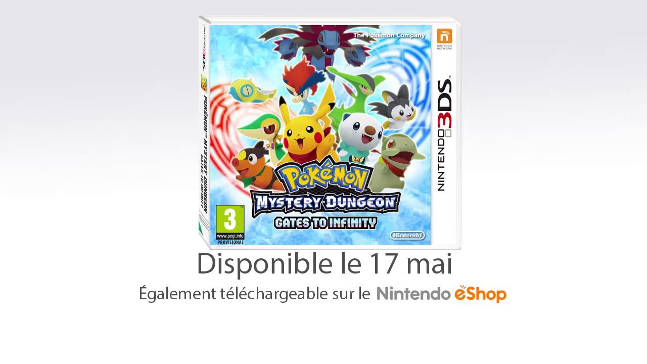 Pok mon donjon myst re 3ds la d mo est disponible - Pokemon donjon mystere les portes de l infini 3ds ...